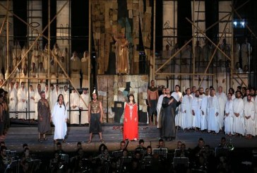 أوبرا عايدة تسافر بالجمهور التونسي إلى الحب في الزمن الفرعوني
