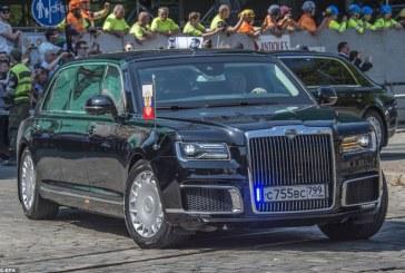 سيارة بوتين خلال قمته مع ترمب تفوقت على نظيرتها الأميركية
