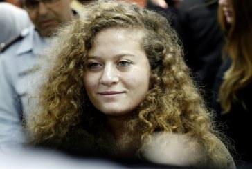 الشابة عهد التميمي رمز المقاومة الفلسطينية ..خارج السجن