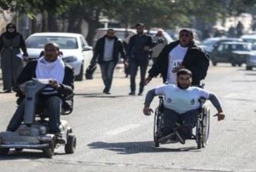 فلسطين : ذوو الإعاقةِ في غزةَ حصارٌ يؤلمهم وحرمانٌ يشقيهم