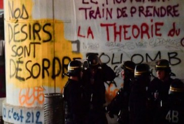 الشرطة تفض اعتصاما طلابيا في احدى جامعات باريس
