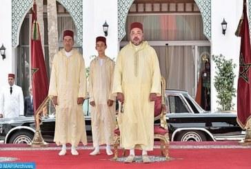 الملك يترأس حفل إستقبال بمناسبة عيد العرش في طنجة ويستقبل مغاربة وأجانب