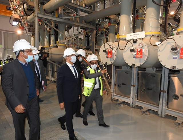 إطلاق مشروع كبير لتعزيز الشبكة الكهربائية بمدينة العيون